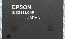 Epson's emWin embedded GUI tool library receive support from
