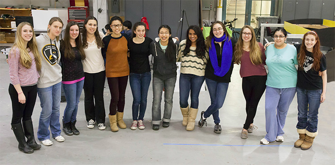 Meet the 2014 seniors of the Girls of Steel.