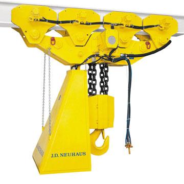 jd neuhaus hoists and cranes