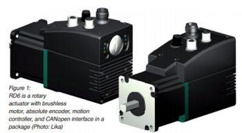 Lika´s Rotary actuator for positioning operations - EXPO21XX