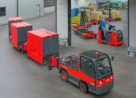 Linde introduced new flexible logistic train solutions - EXPO21XX.com NEWS