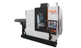 The CV5-500 is a new entry-level machining centre with unlimited 5-axis simultaneous control, designed for the European market and built in Europe.