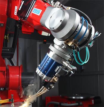 Robot for laser welding