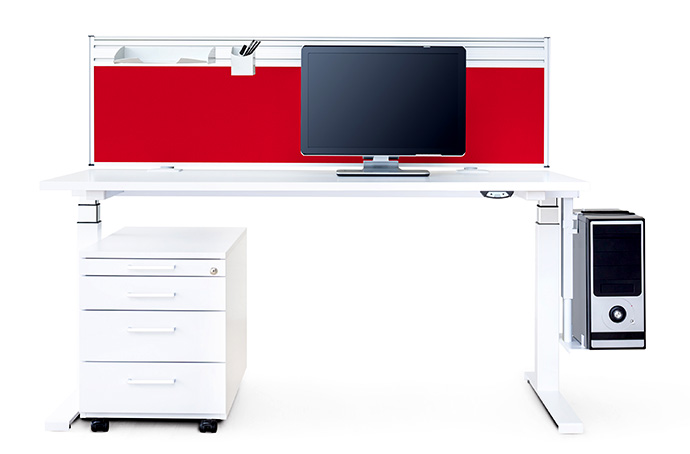 REISS ECO N2 is a work desk range that is fully up to date in all respects.