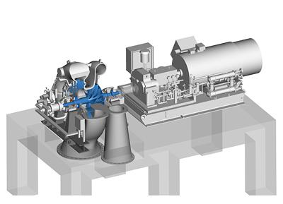 siemens turbocompressor for coking plants