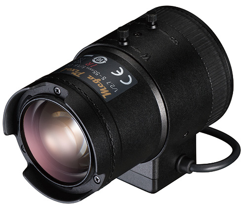 "Tamron 1/2.7"" 5-55mm F/1.6 Vari-Focal Lens well suited for street / traffic surveillance. Photo by Tamron Co., Ltd."