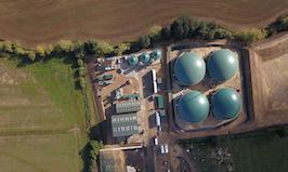 uk biomethane plant